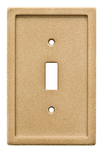 Franklin Brass W30351-365-C Faux Stone Wall Switch Plate/Cover (Tile Faux Stone)