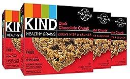 KIND Healthy Grains Bars - Dark Chocolate Chunk - 1.2 oz - 5 ct - 4 pk