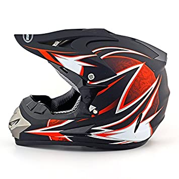 Motocicleta Cascos Cascos de motocross Off Road Racing ATV Enduro casco para Adulto, A