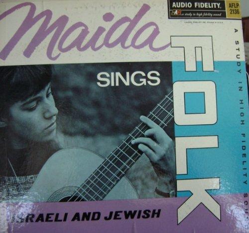 {Autograph} Maida Sings Israeli & Jewish Folk. Signed (Jewish Signed)