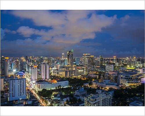 Photographic Print of CTW Building in - Ctw Thailand