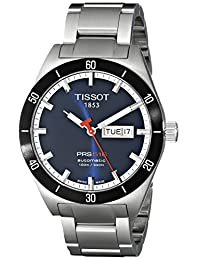 Tissot Men's T0444302104100 PRS 516 Blue Day Date Dial Watch
