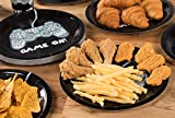 Juvale Video Game Party Supplies – Serves 24 – Includes Plates, Knives, Spoons, Forks, Cups and Napkins. Perfect Gamer Birthday Party Pack for Kids Video Game Themed Parties.