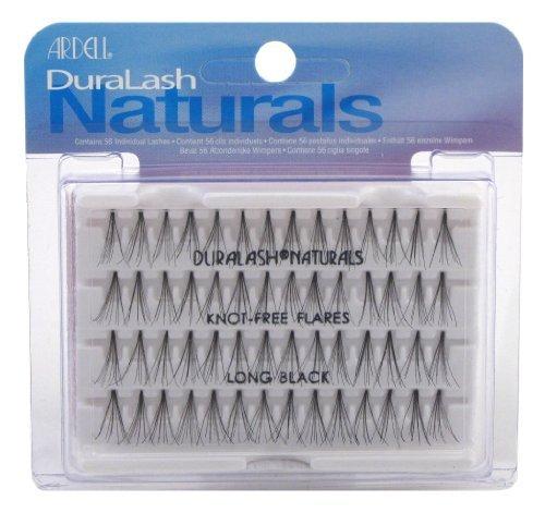 Ardell Duralash Naturals Flare Long Black (56 Lashes) (Case of 6) Ardell Individual Eyelashes Flare