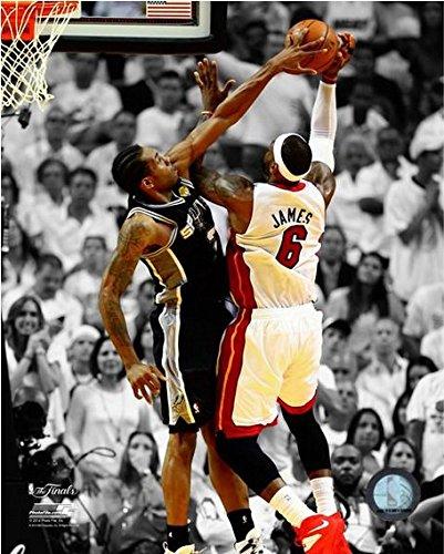 "Kawhi Leonard San Antonio Spurs 2014 NBA Finals Game 4 Action Photo (Size: 8"" x 10"")"