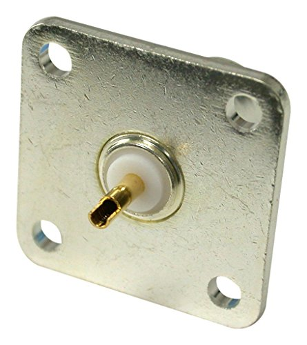 MULTICOMP MC002020 RF/Coaxial Connector, BNC Coaxial, Straight Jack, Solder, 50 ohm, Brass by Multicomp