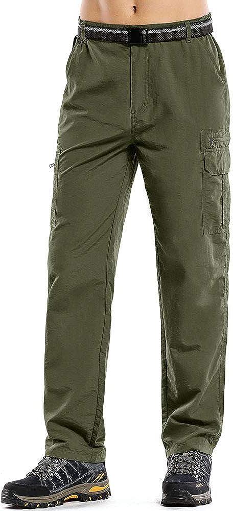 Quick Dry Lightweight Safari Fishing Cargo Pants Jessie Kidden Hiking Pants Mens Outdoor UPF 50