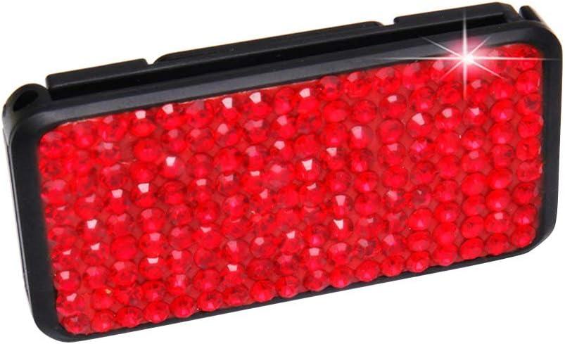 RENNICOCO Ajusteur De Ceinture De Voiture Bling Cristal Strass Ceinture De S/écurit/é Clips Auto /Épaule Ceinture De Ceinture Positionneur Clip De Verrouillage