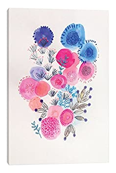 iCanvasART Ice Spring Canvas Print by Victoria Johnson 26 x 18