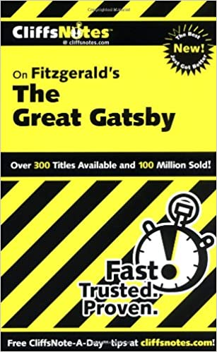 GO Downloads CliffsNotes on Fitzgerald's The Great Gatsby (Cliffsnotes Literature Guides) by Kate Maurer