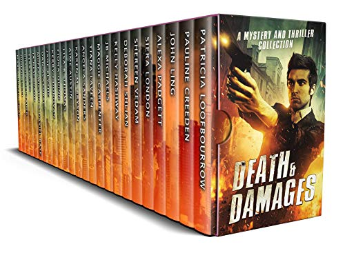 The perfect boxed set for the ultimate thriller fan! 25 adventures full of captivating conundrums, hair-raising homicides, and suspenseful secrets from today's USA Today & Wall Street Journal bestselling and award-winning authors: DEATH AND DAMAGES