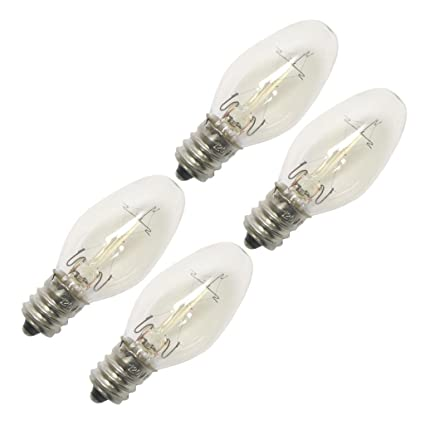 Darice Edison Style Night Light Bulbs 7 Watts