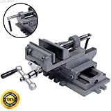 COLIBROX--New 4'' Cross Drill Press Vise X-Y Clamp Machine Slide Metal Milling 2 Way HD,jet drill presses for sale,drill press,
