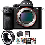 Sony Alpha a7R II Mirrorless Digital Camera and Sigma MC-11 Professional Bundle
