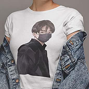 BTS Anime T-Shirt for Women