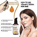 LICUQURE Vitamin C Serum With Hyaluronic Acid For Moisturizng | Skin Whitening | Skin Glow | Collagen Booster | Wrinkle…