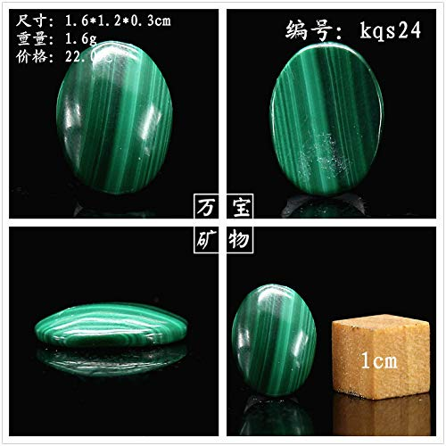african Model style natural malachite cabochon gemstone inlaid ring necklace pendant chain luo dan can only diy jewelry (kqs24