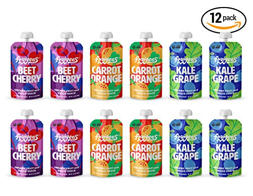 Amazon.com  Fruigees Superfood Smoother than a Smoothie Squeeze Snack  Pouches   Organic • Non-GMO • Kosher • Vegan • Gluten Free   Made from 100%  Fruit ... c674f0e2ccf