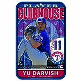 MLB Texas Rangers Darvish 11-by-17 inch Locker Room Sign