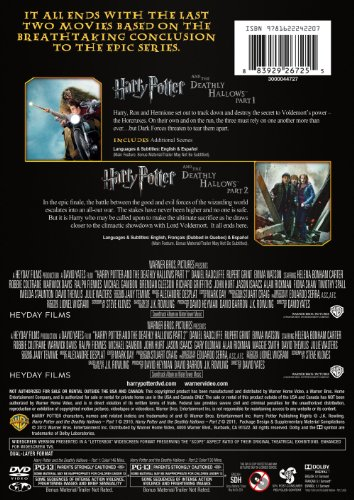Hp Double Feature Year 7 Dbfe Dvd Buy Online In Uae