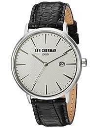 Ben Sherman Men's WB001WA Portobello Professional Analog Display Quartz Black Watch