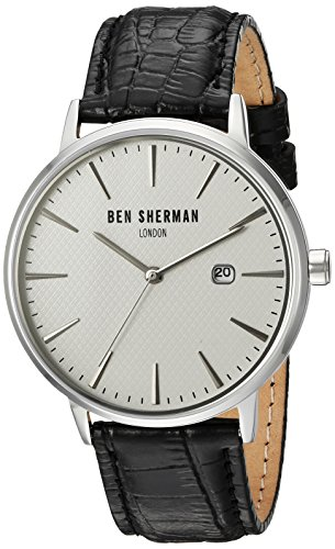 Ben Sherman Men s  Portobello Professional  Quartz Stainless - Import ... 7f68faa532b