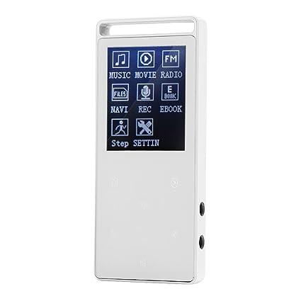 Amazon com: Fosa Portable 8GB Bluetooth FM Radio Recording APE FLAC