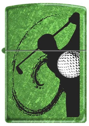 Swing Meadow Green Zippo Lighter product image