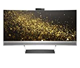 HP ENVY 34-inch Ultra WQHD Curved Monitor with Webcam and Audio by Bang & Olufsen (Black/Silver)