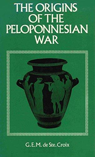 The Origins of the Peloponnesian War,