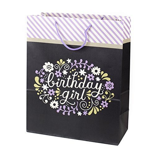 Hallmark Extra-Large Birthday Gift Bag (Birthday Girl) (Gift Extra Large)