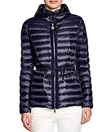 Moncler Women's Raie Hooded Down Navy Jacket ...