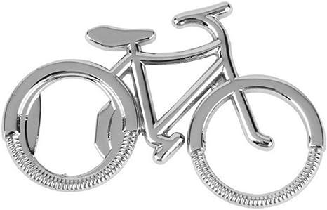 Monbedos Abrebotellas llavero creativo para bicicleta, abridor de botellas de cerveza portátil, herramienta de regalo