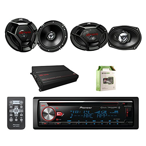 Pioneer CD Bluetooth Receiver W/Enhanced Audio Functions wit