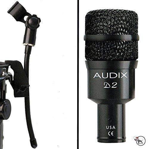 Audix Gooseneck - Audix D2 Hypercardioid Dynamic Microphone and DVice Gooseneck Mic Clip