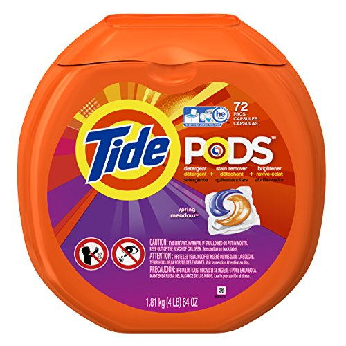 Tide Pods Spring Meadow Scent Laundry Detergent Pacs 72 Ct (Tide Pods Clean Breeze compare prices)