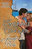 Front cover for the book Embrace and Conquer by Jennifer Blake