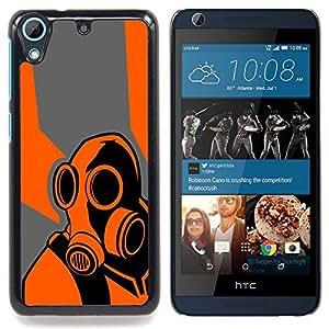 """Qstar Arte & diseño plástico duro Fundas Cover Cubre Hard Case Cover para HTC Desire 626 (B0rderlands juego Psycho"""")"""