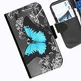 Hairyworm - Colour splash LG G3 (D855, D850, D851) leather side flip wallet cell phone case, cover