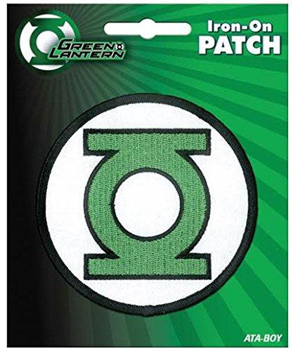 Ata-Boy DC Comics Green Lantern Logo Iron-On Patch