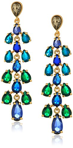 Carolee Pacific Gala Ombre Stone Cascade Drop Earrings (Earrings Cascade Drop)