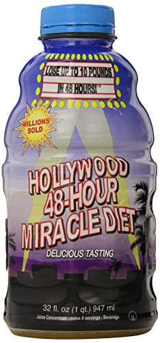 Hollywood Diet Herbal Clean 48-Hour Miracle - 32 fl oz (Best Feet In Hollywood)