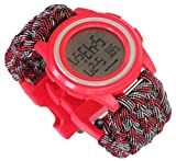 Women Sports Watches Waterproof Countdown Timing Stop Fun Digital Watch Water Shock-Proof LED Digital