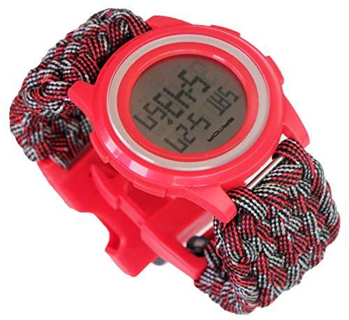 Women Sports Watches Waterproof Countdown Timing Stop Fun Digital Watch Water Shock-Proof LED Digital by Generic