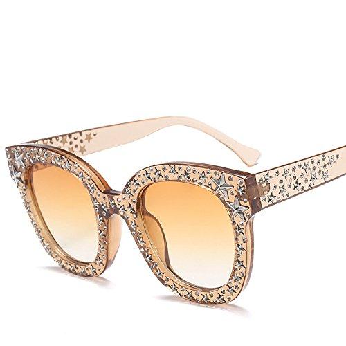 Retro G Sol Accesorios G De Gafas Tendencia Damas Gafas Mujeres Gafas Pentagrama De Personalidad Sol KlaPe HwI6qq