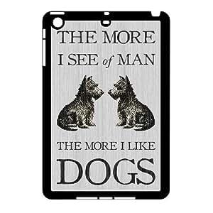 3D Bloomingbluerose Quote Vintage IPad Mini 2D Cases Vintage Dog Quote, Quote Vintage [Black]