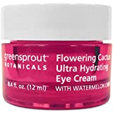 GreenSprout Botanicals Flowering Cactus Eye Cream, 0.4 Ounce