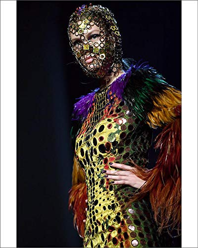 Media Storehouse 10x8 Print of Fashion-France-Gaultier (19129551) - Jean Paul Gaultier Couture