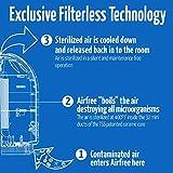 Airfree Iris 3000 Air Purifier, Small, Black