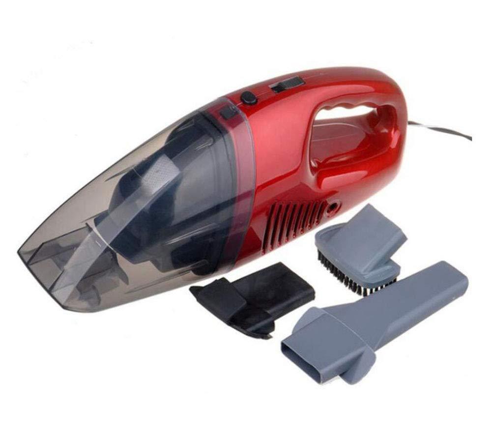 Aspirador del Coche, Aspirador portátil de Mano para automóvil, 12V 3-en-1 de Alta Potencia en seco y seco Hoover Red, para automóvil/hogar/Mascota: Amazon.es: Hogar